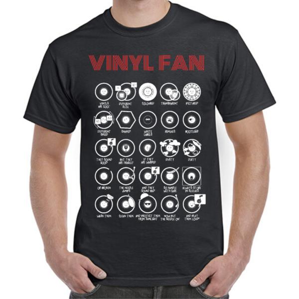 VINYL FAN (red/white)