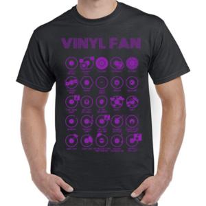 Vinyl Fan Purple